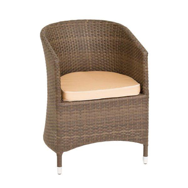 Кресло Верона (алюминиевый каркас, экоротанг)